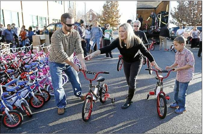Bikes For Tykes Of Tulsa Bikes For Tykes founder Jason