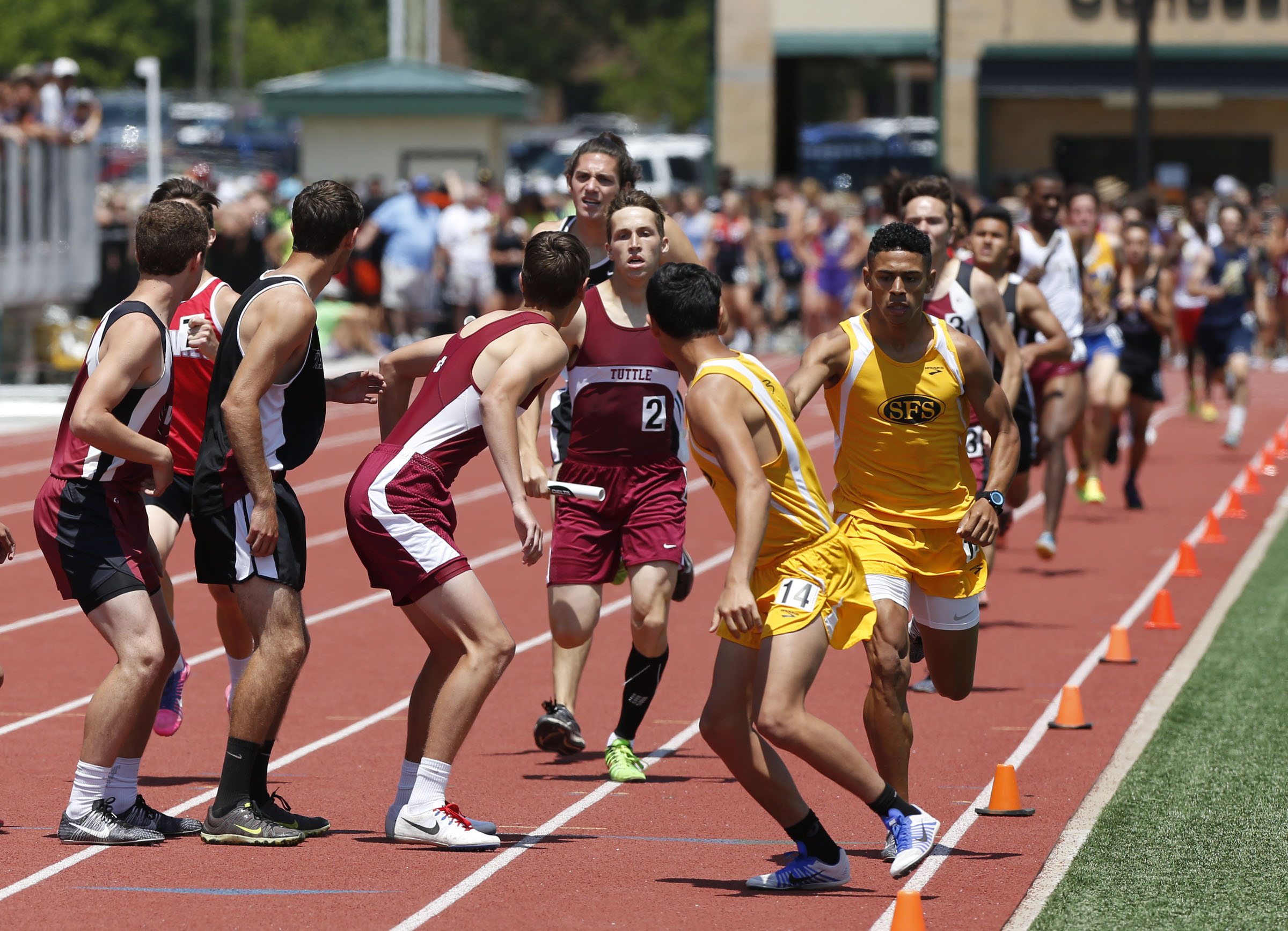 grpa state class a track meet