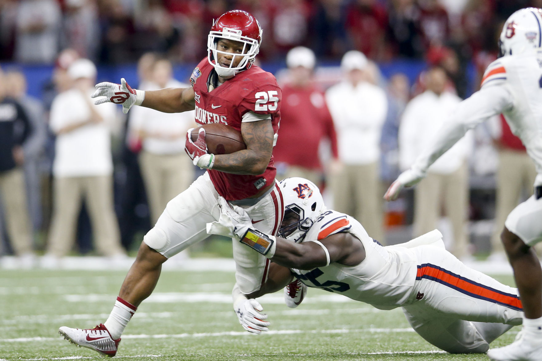 Oklahoma running back Joe Mixon heading to the NFL