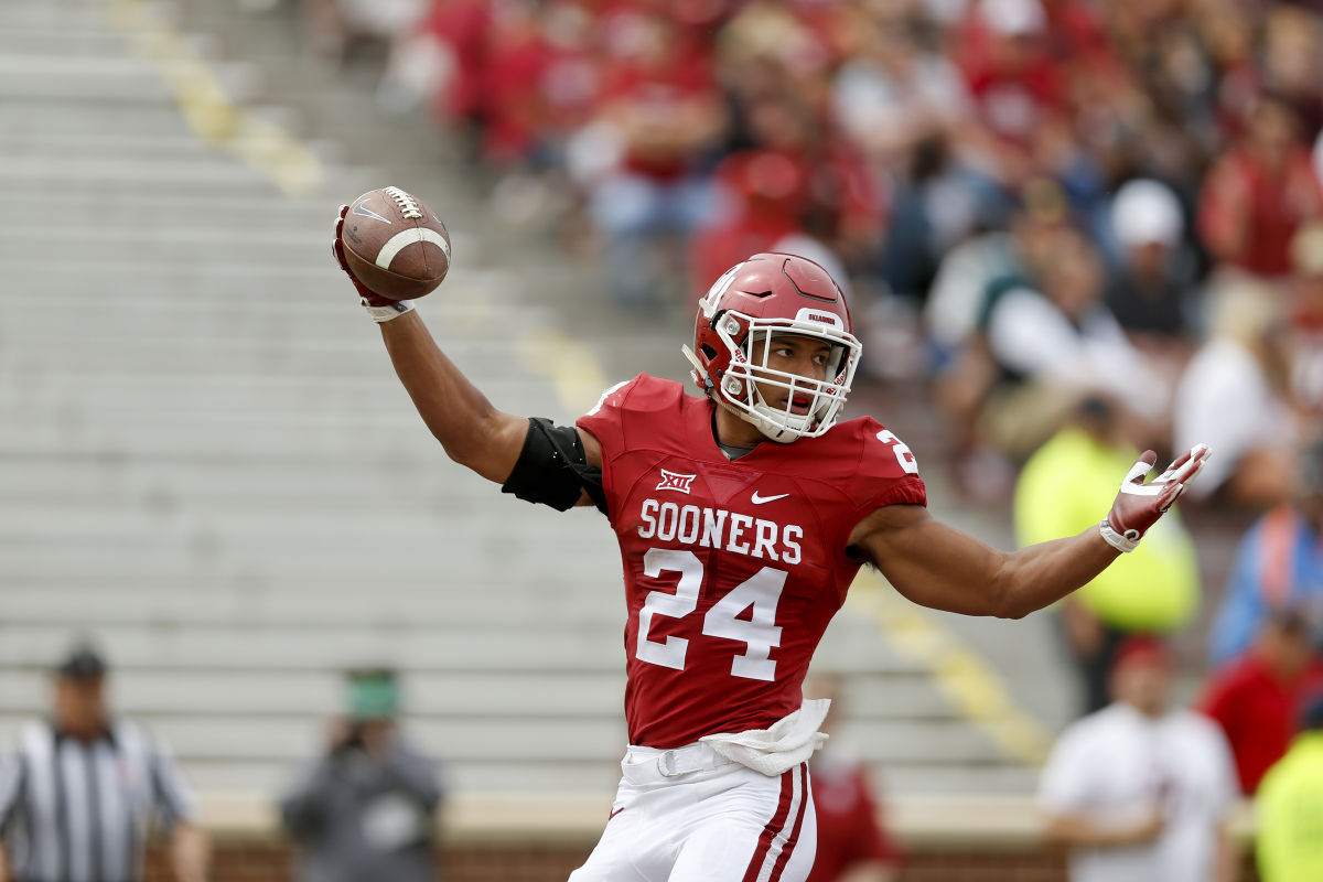 Rodney Anderson Oklahoma >> OU Sports Extra - OU's Rodney Anderson could boost a loaded Sooners backfield