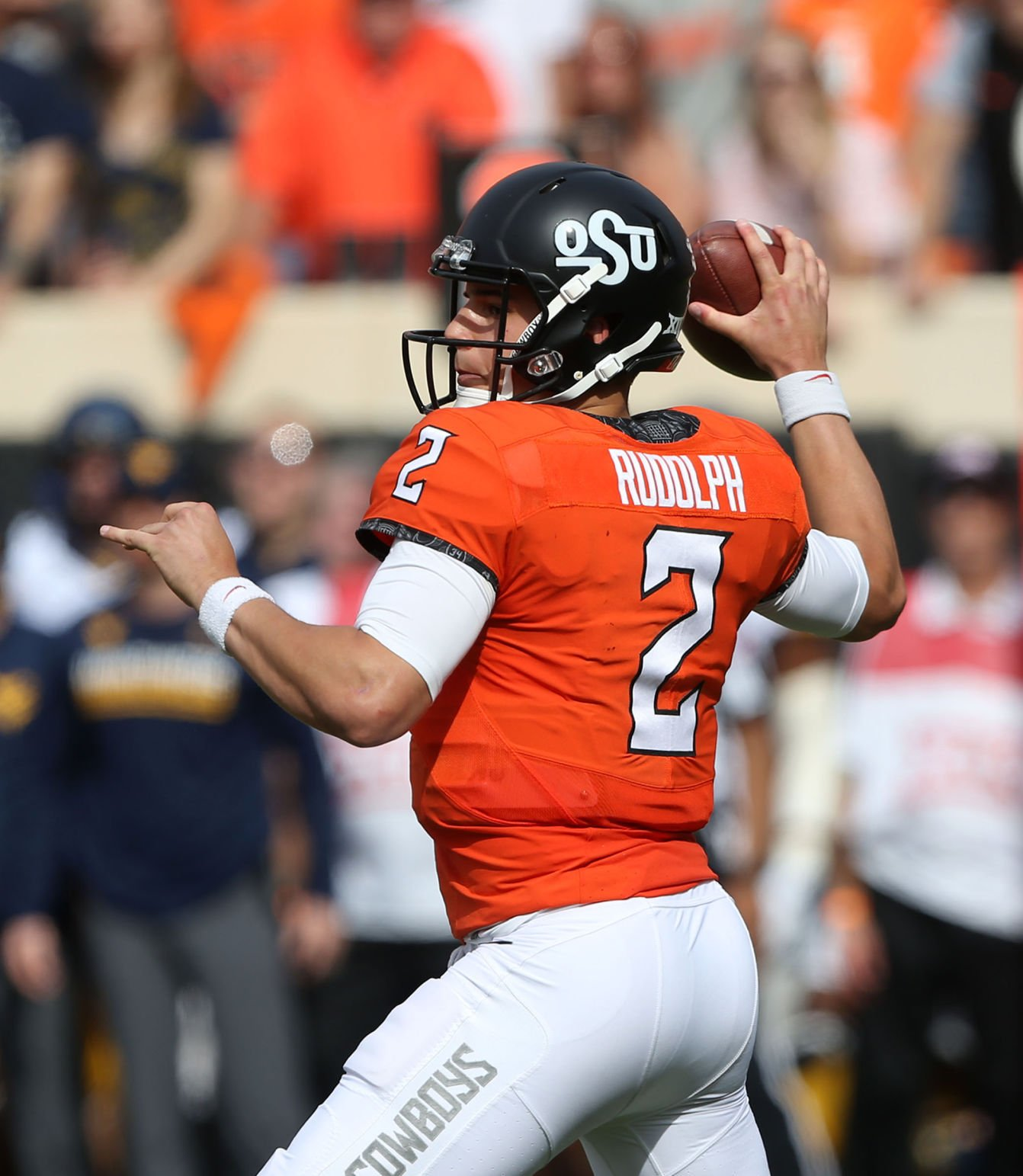 OSU Sports Extra - QB Mason Rudolph putting up solid numbers, protecting the ball