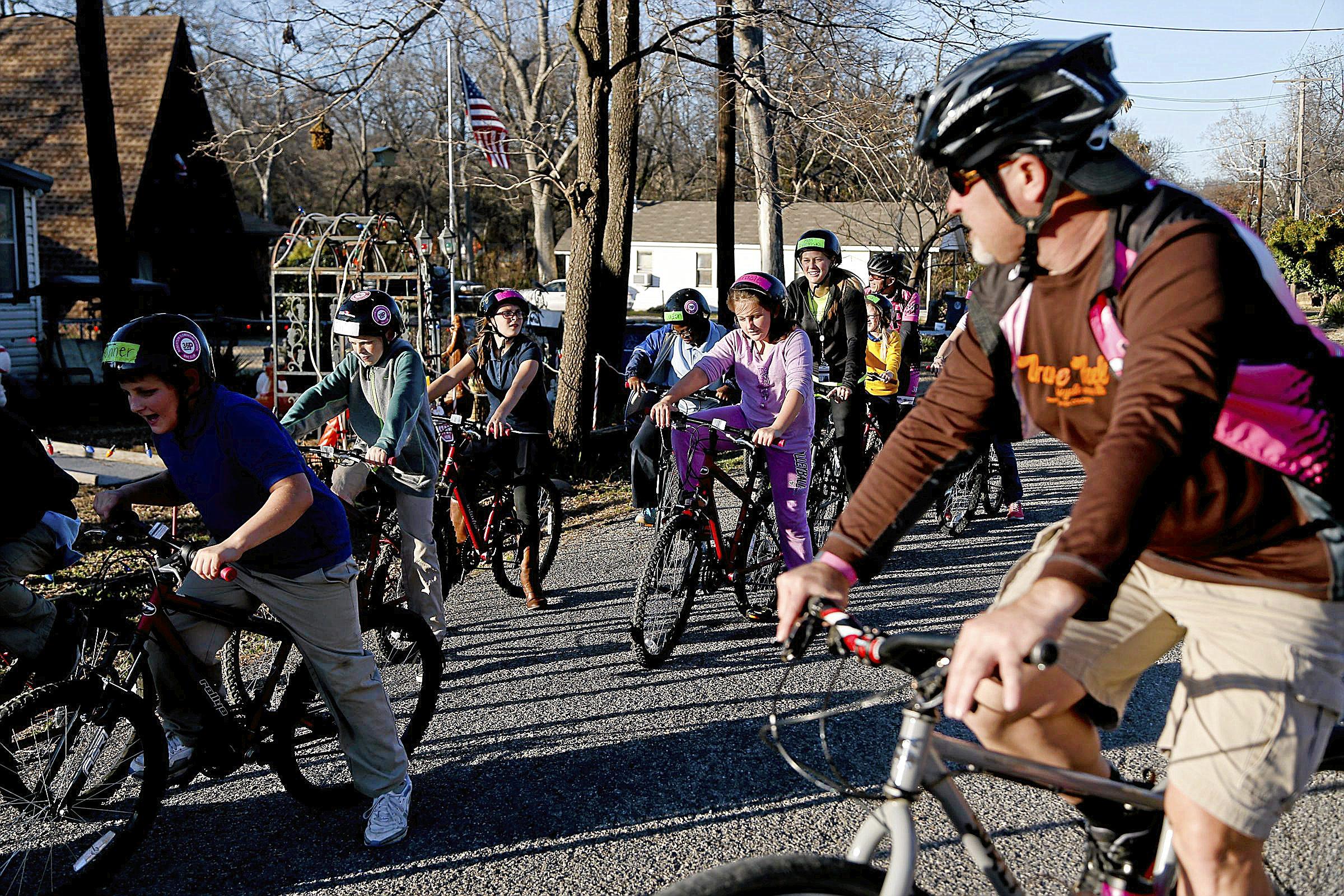 Photo gallery: After school bike clubs at Tulsa Public Schools