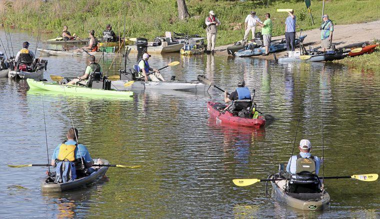 Kelly bostian kayak bass fishing tournaments drawing for Kayak fishing tournaments