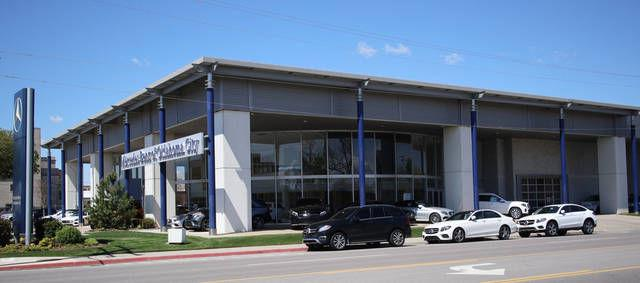 Last car dealership along automobile alley headed for for Mercedes benz of oklahoma city