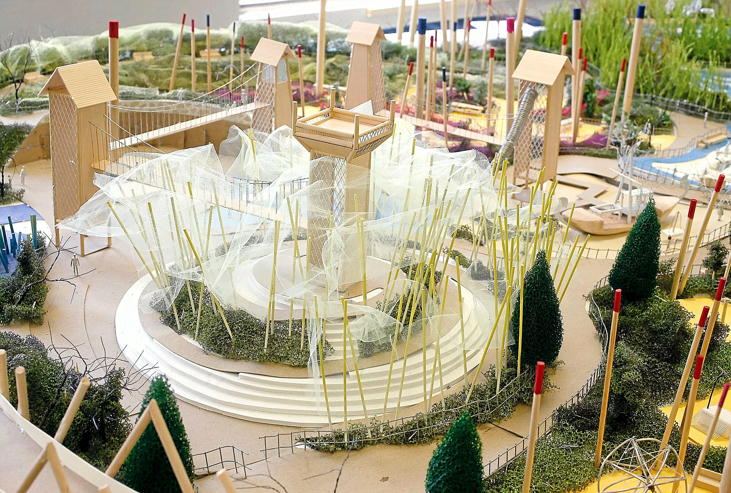 Photo gallery: A Gathering Place playground 3D model