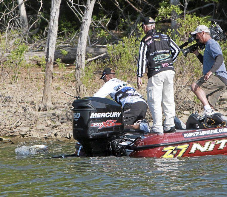 Kelly bostian major league fishing hits local lakes for Major league fishing com