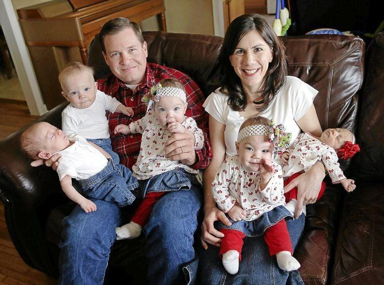 Tulsa Couple Adopts Triplets Then Twins Arrive