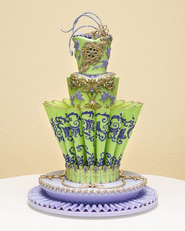 Tulsa Wedding Show: Oklahoma Woman Wins Third Grand National Wedding Cake