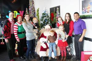 Santa Visit at Emerson Orthodontics