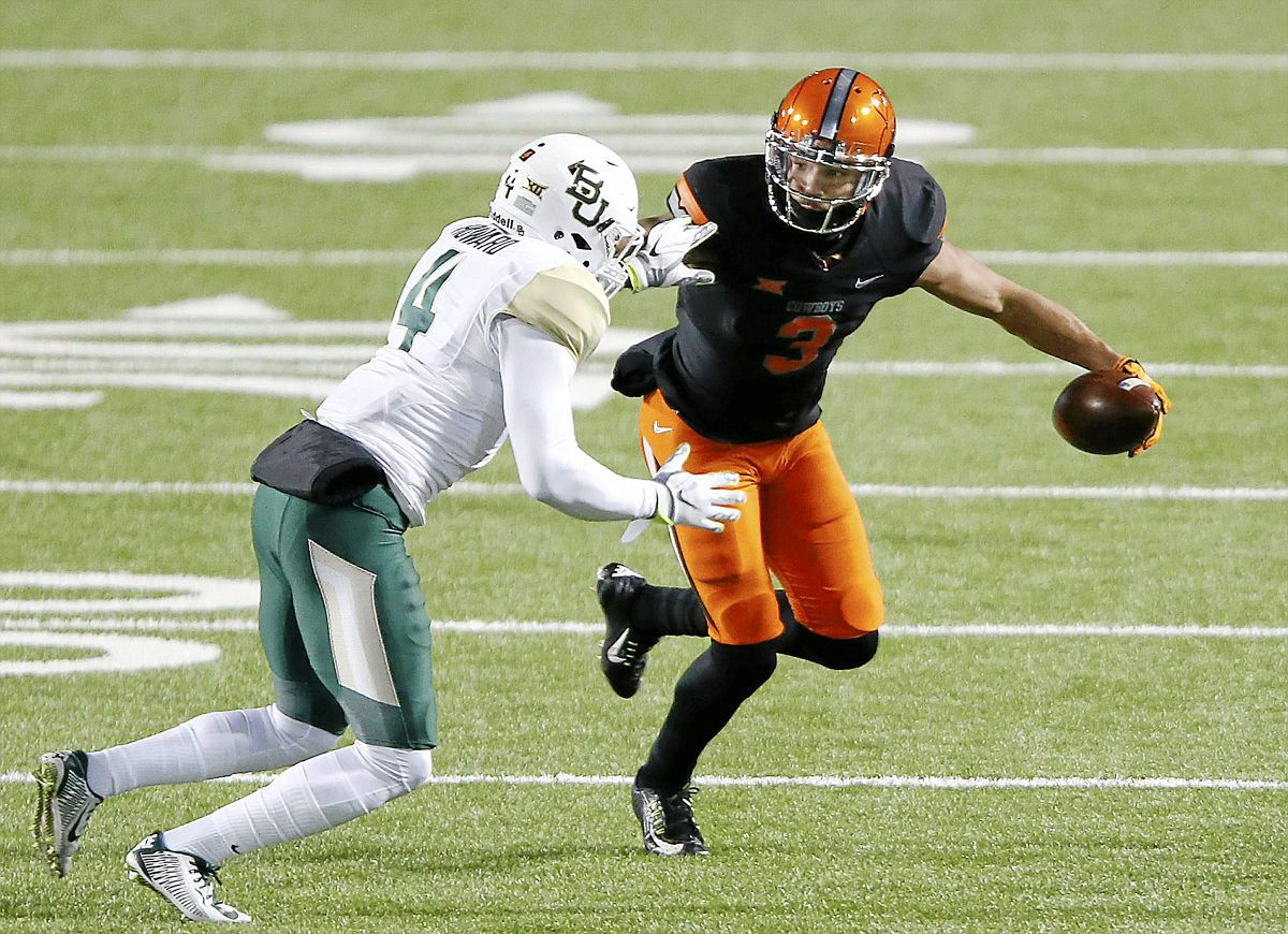 OSU Sports Extra - Oklahoma State football: Marcell Ateman ...