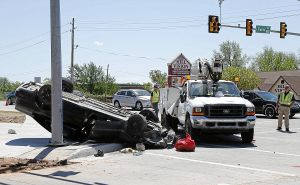 Car crashes into two Tulsa street workers; both die