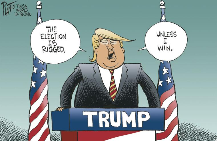 Image result for rigged election cartoons