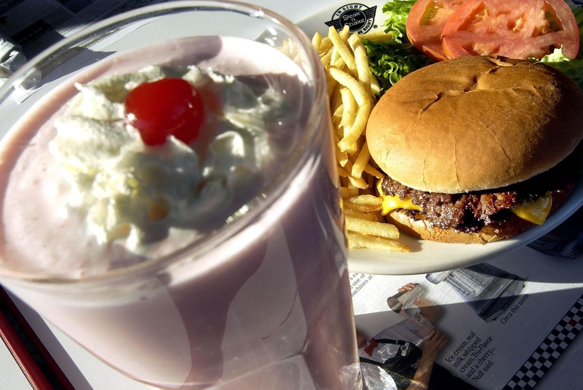 If you're craving good ol' American fare, visit Steak 'n Shake restaurants! Featuring drive-thru and sit-down service, Steak 'n Shake primarily serves burgers, fries and hand-dipped milkshakes, but also offers breakfast and other meals.