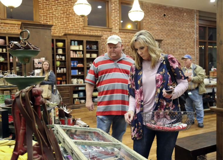 pioneer woman mercantile welcomes visitors from across the
