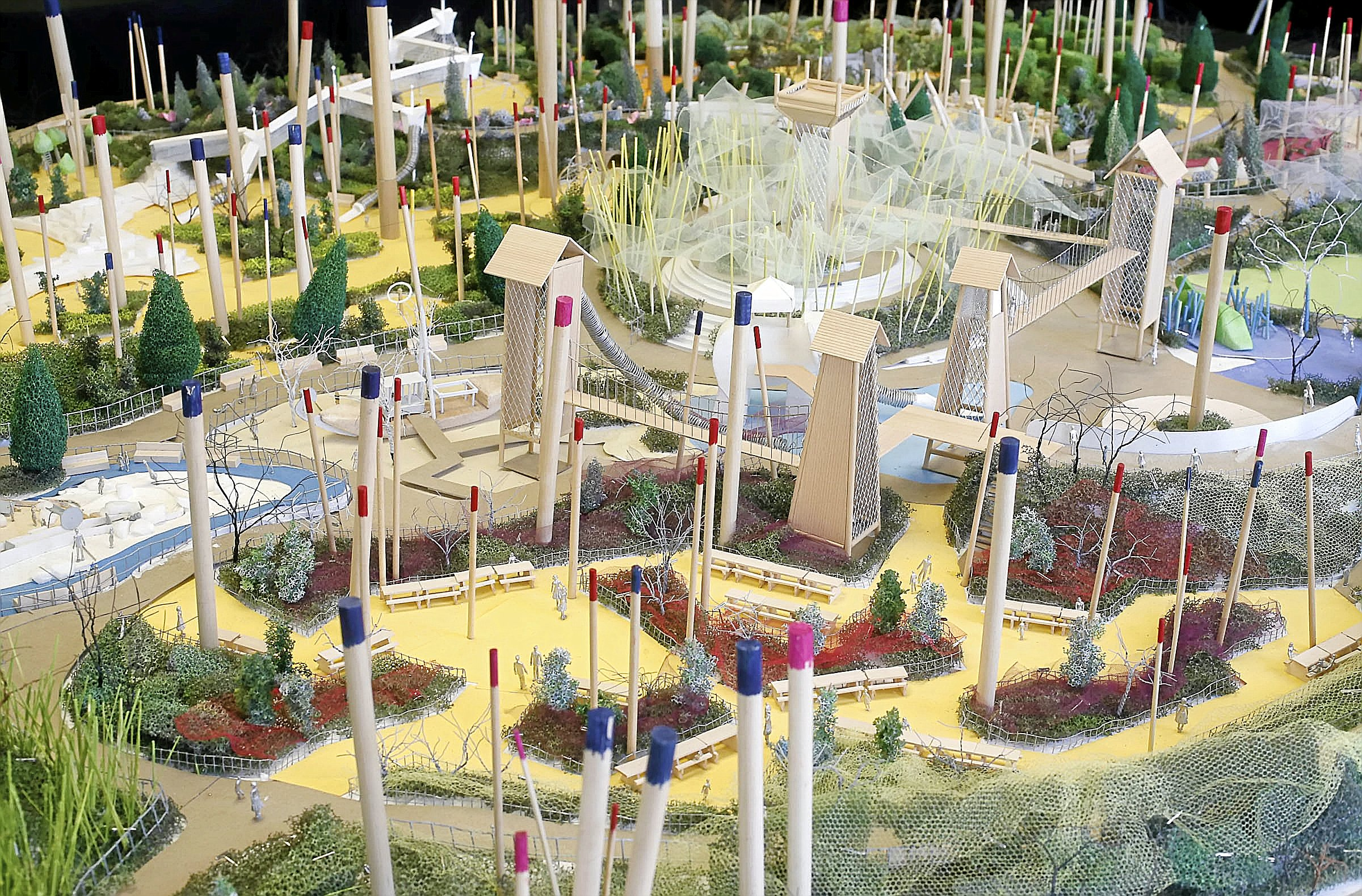 photo gallery a gathering place playground 3d model