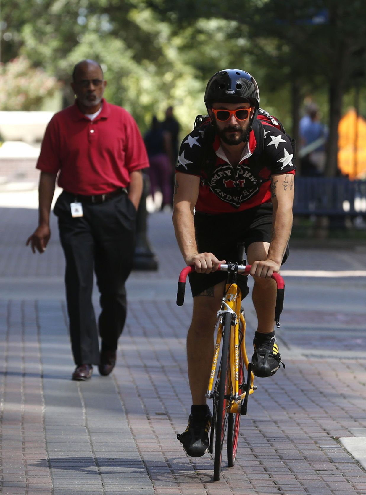 Freaky Fast': Jimmy John's bike drivers meet challenge of pedaling ...