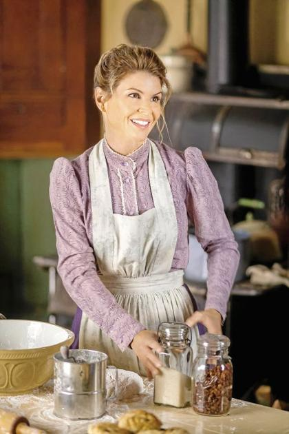 Actress Lori Loughlin Goes Back In Time On Hallmark Show
