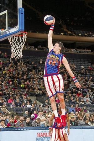Harlem Globetrotters Rookie And Savanna Native Tyler Inman Returns To Oklahoma For Tulsa Okc