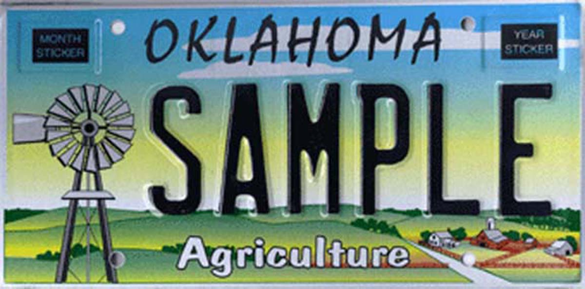 Photo Gallery Specialty Plates Available In Oklahoma