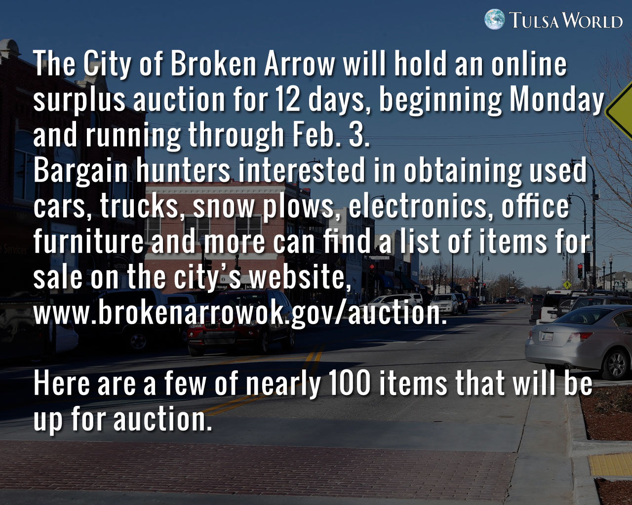 Photo Gallery Some Items You Can Bid On At Broken Arrow 39 S City Surplus Auction