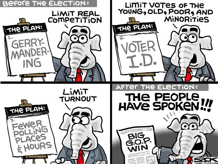 Image result for republican voter cartoons