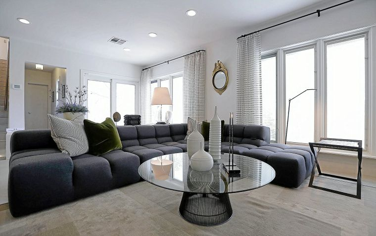 Tulsa designer showcase gives makeover to art deco estate for Interior design challenge art deco