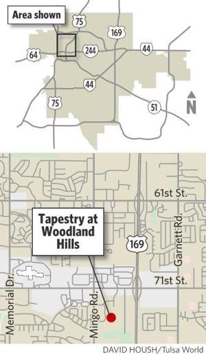 Tapestry At Woodland Hills Senior Living Center Under Construction Tulsa Wo