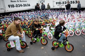 Bikes For Tykes Of Tulsa Bikes for Tykes donates