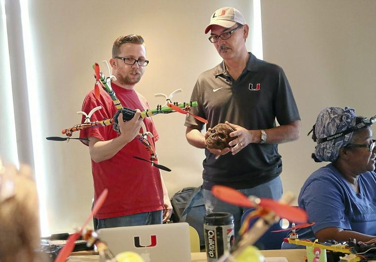 Tulsa-area teachers learn to build quadcopters, will share knowledge with students in summer camps