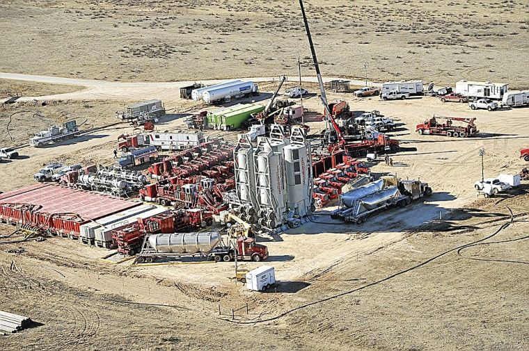 No end in sight for fracking boom