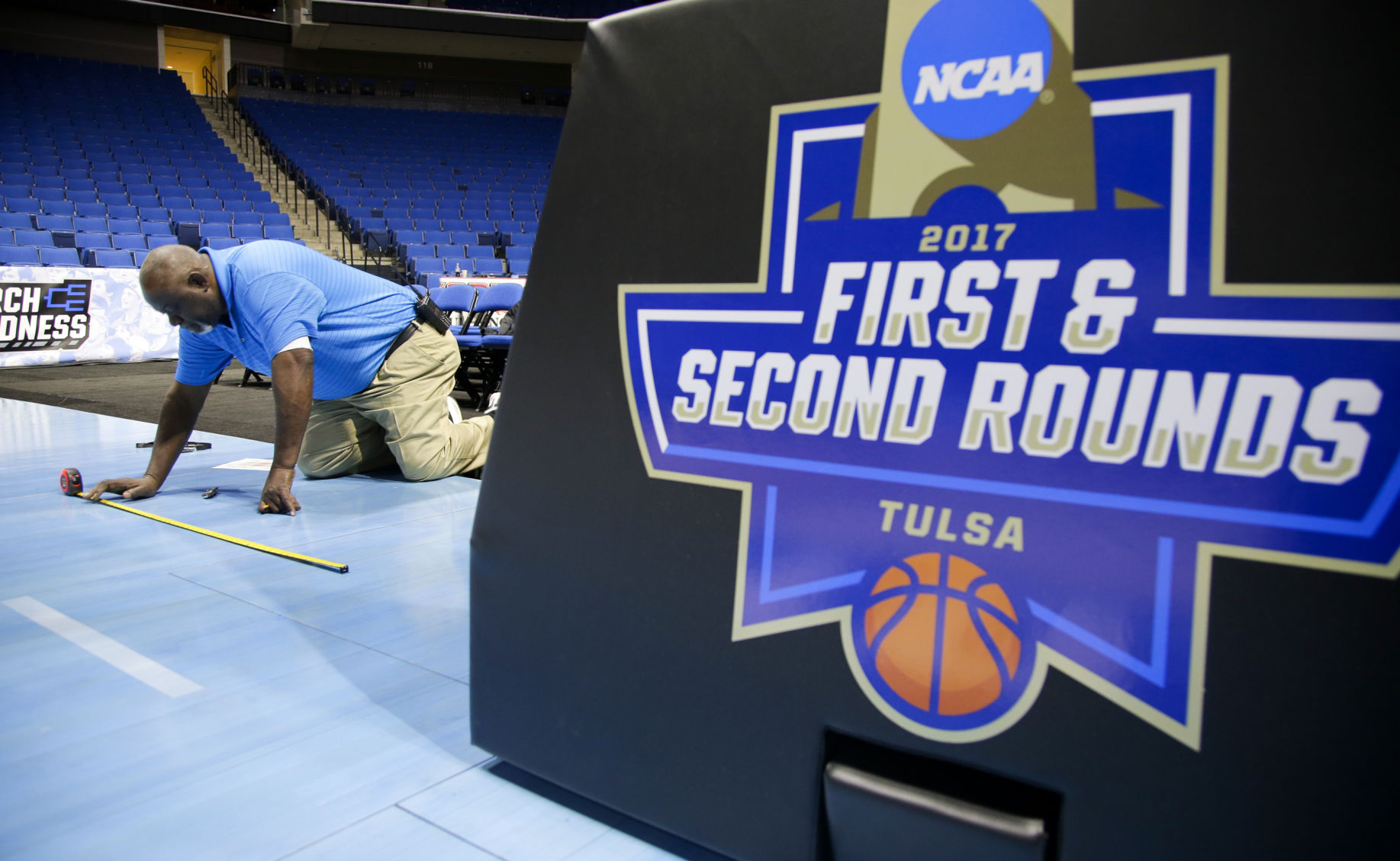 TU Sports Extra - NCAA in Tulsa: Follow the action from Thursday's practices at the BOK Center