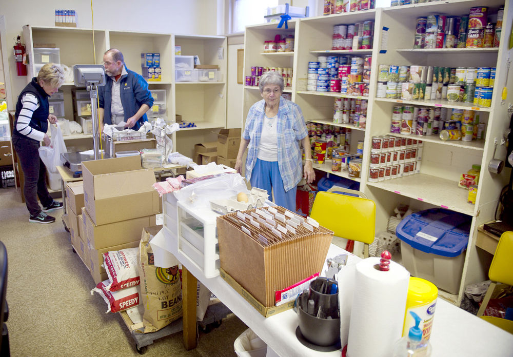 Pantry Shelf Provides Food Plus Things Food Stamps Can T