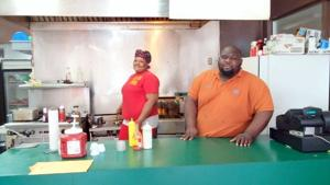 Charlena and Roosevelt Harris, Owners of Grill King Express
