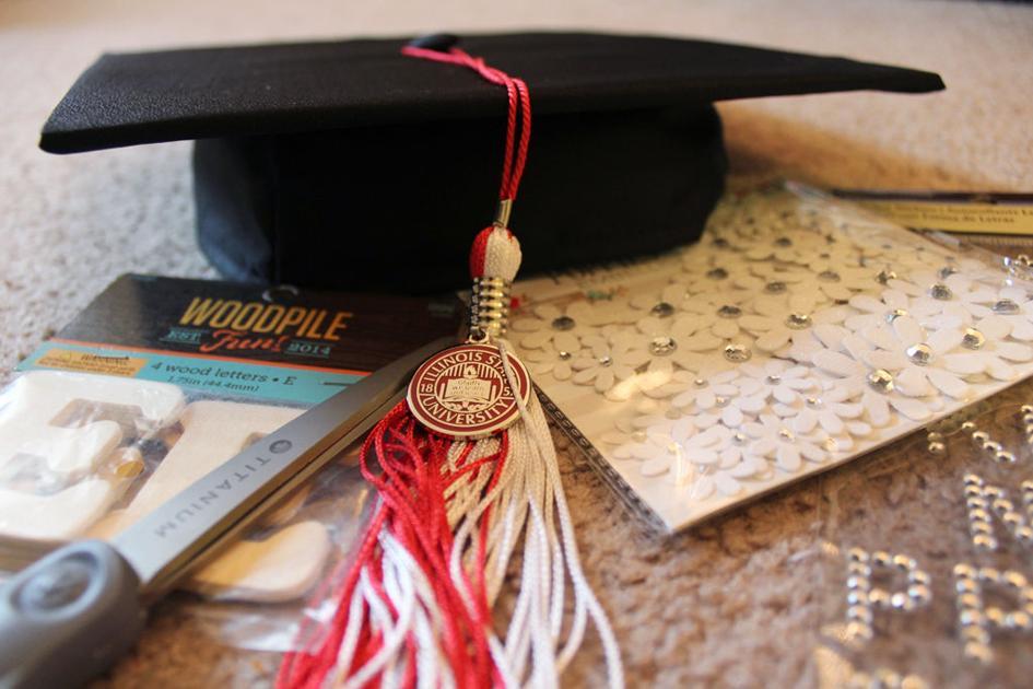 Graduation cap decorating dos and don 39 ts features for Accounting graduation cap decoration