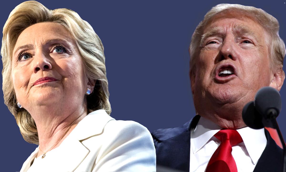 epolls president general election trump clinton johnson stein