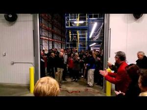 Henry's Foods Freezer Addition - Ribbon Cutting