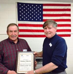 Rodney Eldevik - Douglas County Car Care Program 2114 Volunteer of the year