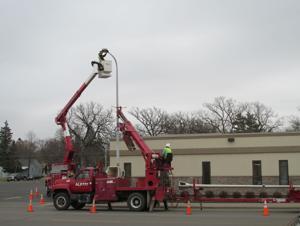 ALP Update Light Poles on Broadway