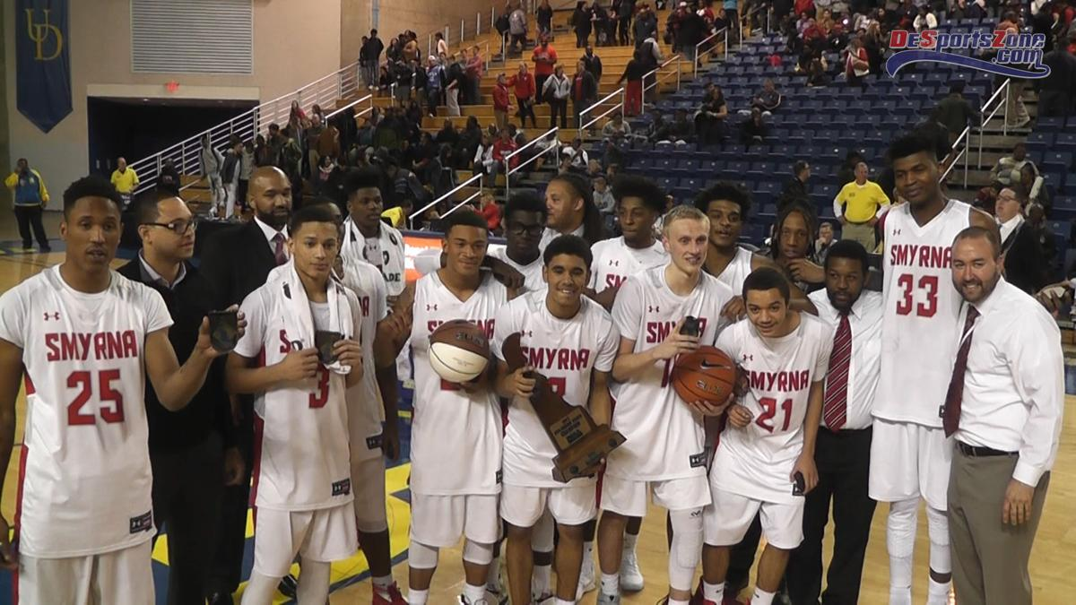 VIDEO: Smyrna wins school's first basketball crown | The Latest from WDEL Sports | wdel.com