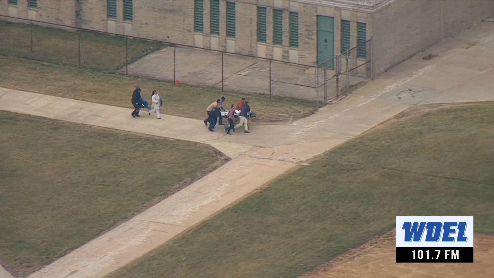 Lockdown situation at James T. Vaughn Correctional Center in Smyrna