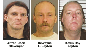 Trio face charges