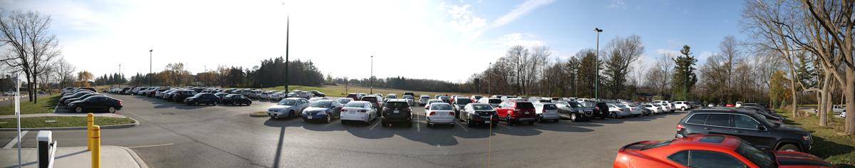 landscape parking