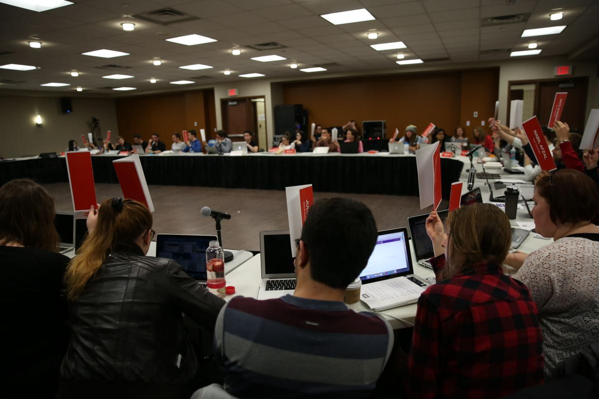 USC council meeting budget March 9, 2016