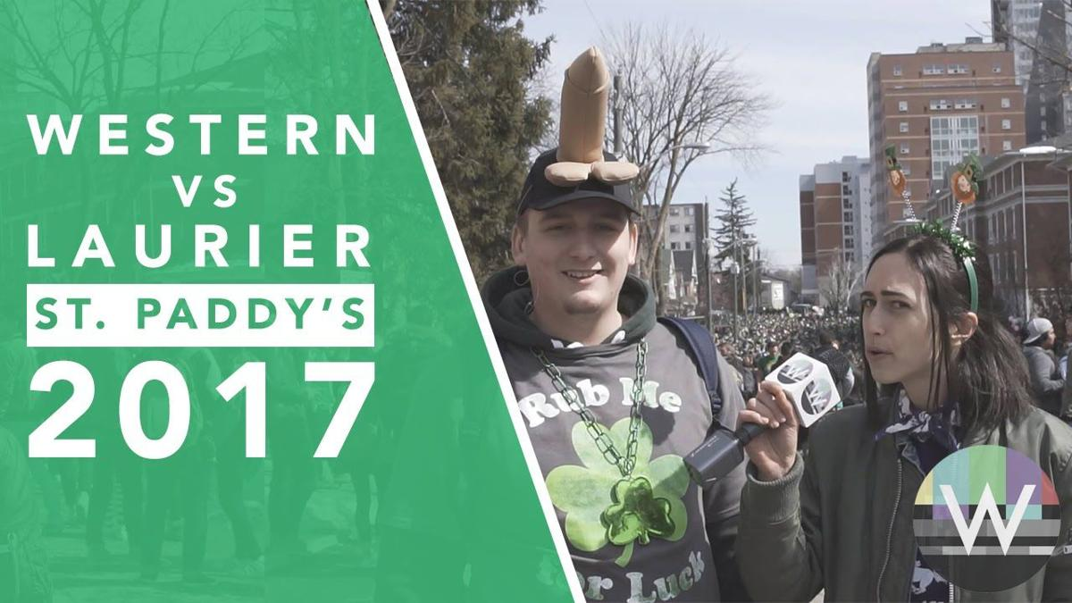 Western VS Laurier: St. Patrick's Day 2017