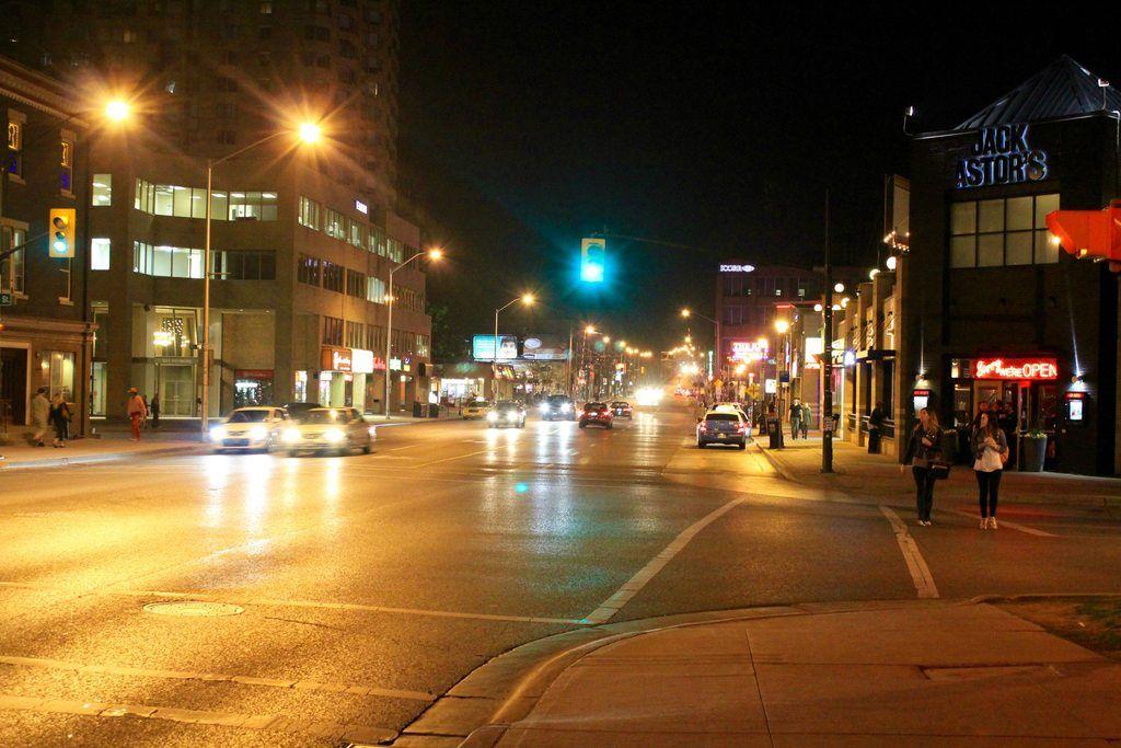 Richmond Row night
