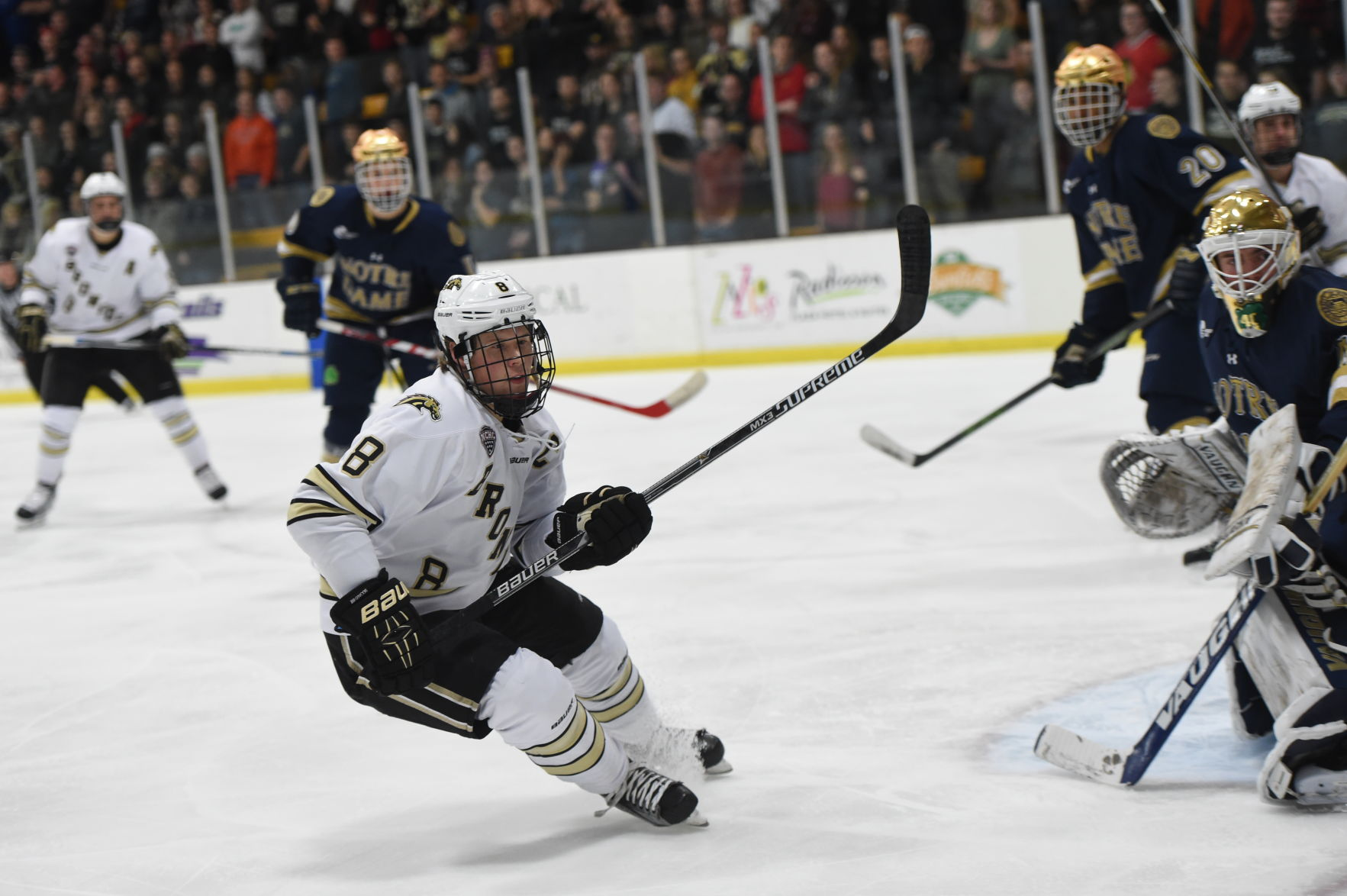 NCHC: Senior Captain Sheldon Dries Looks For A Big Final Year
