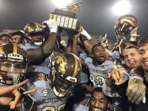 Image result for western football with cannon