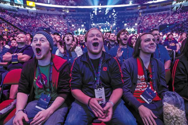 Video games as a spectator sport catches on - What's Up : Features