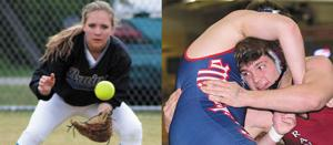 <p>Brentwood's Katie McCroskey and Franklin's Josh Fileby were both chosen as John Maher Scholar Athletes.</p>