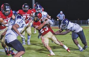 <p><span>Chris Rowland is the Raptors grease-man and has provided big plays each night. He and the rest of his Ravenwood teammates take on Whitehaven for a spot in the championship game. </span></p>